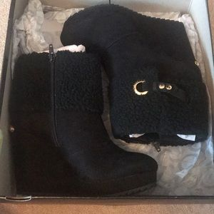 8.5 Juicy Couture wedges. Never worn new in box